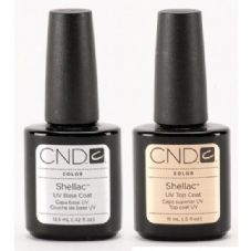 CND Shellac - Original Top Coat 15ml + Base Coat 12.5ml